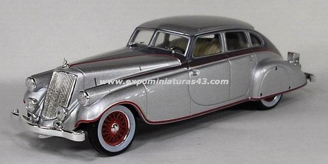 Pierce Arrow Silver 1933 1/43