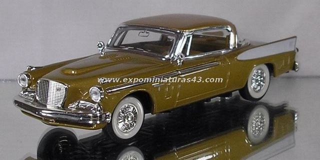 Studebaker Golden Hawk 1957 1/43