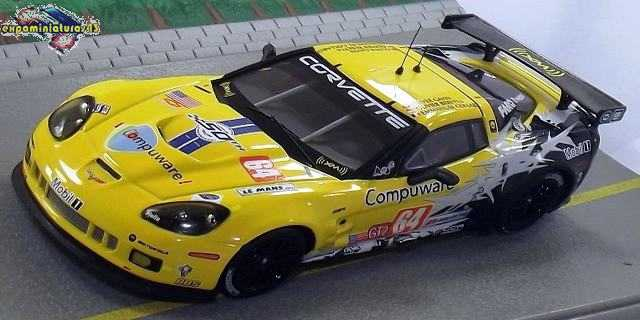 2007 Chevrolet Corvette Ron Fellows ALMS GT1 Champion Z06 Press Photo 0002
