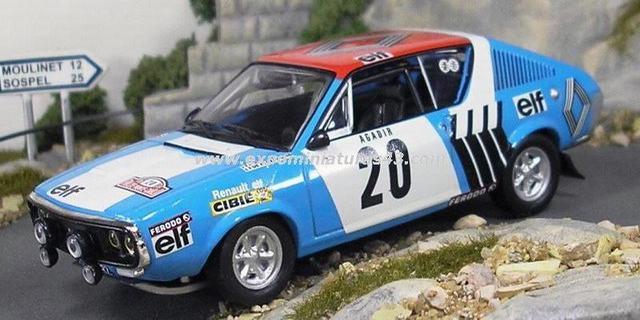 1977 Renault 17 Ts. Rally