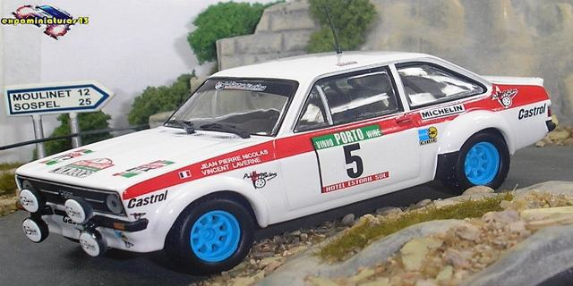 Rally Portugal 1978 Ford Escort RS 1800 Nicolas/Laverne 1/43