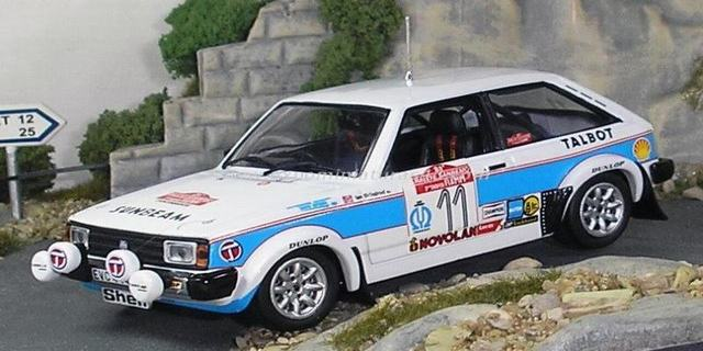 Rally Sanremo 1979 Talbot Sunbeam Lotus Pond/Grindrod 1/43