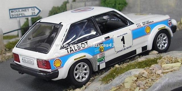 Rally Brasil 1981 Talbot Sunbeam Lotus Frequelin/Todt 1/43