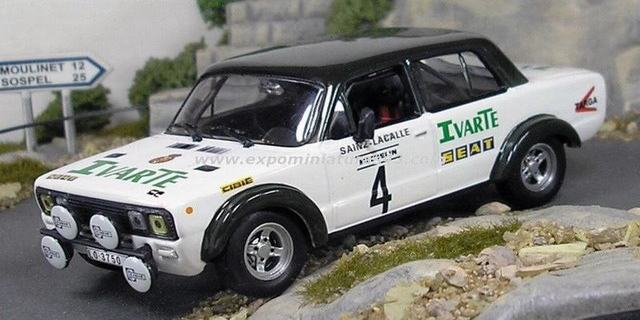 Rally Santa Teresa 1982 Seat 124 Sainz/Lacalle 1/43