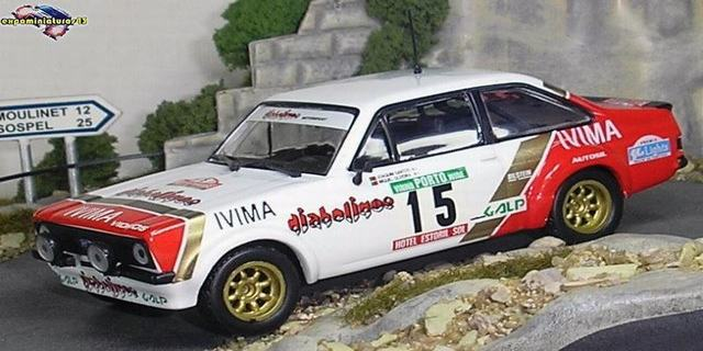 Rally Portugal 1983 Ford Escort Santos/Oliveira 1/43