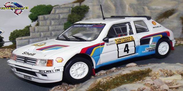 1000 Lakes Rally 1984 Peugeot 205 Turbo 16 Vatanen/Harryman 1/43
