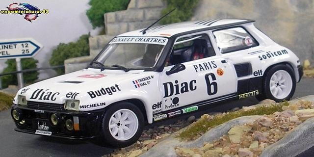 Rallye Automobile de Monte-Carlo 1984 Renault 5 Turbo Therier/Vial 1/43