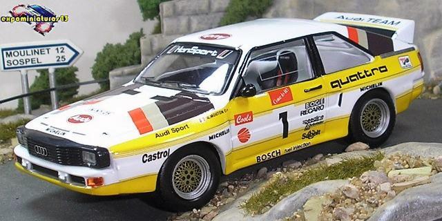 Rally Pikes Peak Climb 1985 Audi Sport Quattro S1
