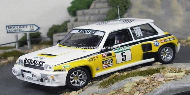 Rally Corte Ingles 1985 Renault 5 Turbo Sainz/Boto 1/43