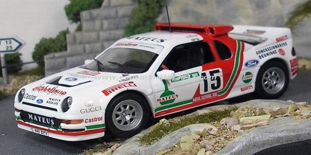 Rally Portugal 1986 Ford RS200 Santos/Oliveira 1/43