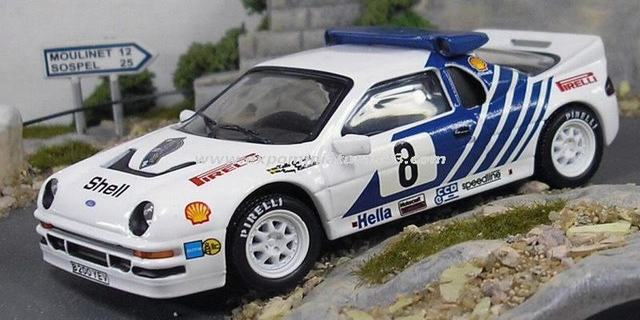 Rally Suecia 1986 Ford RS200 Grundel/Melander 1/43