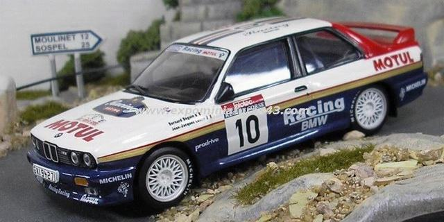 Rally Tour de Corse 1987 BMW M3 Beguin/Lenne 1/43