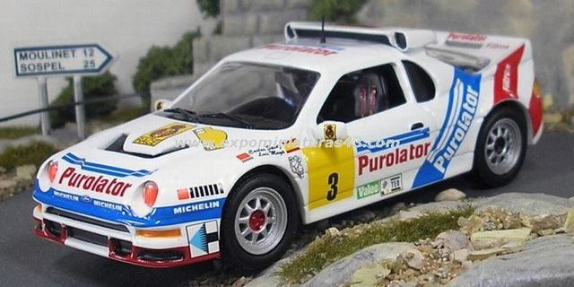 Rally Madrid 1987 Ford RS200 Sainz/Boto 1/43