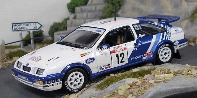 Rally Tour de Corse Ford Sierra Sainz/Moya 1/43