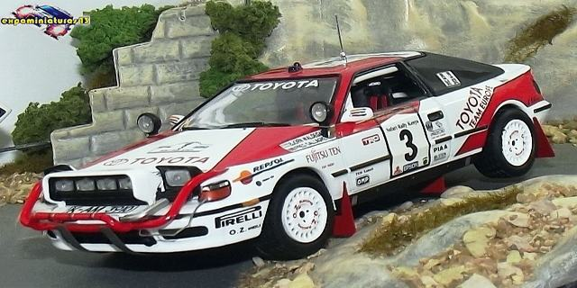 Rally Safari 1990 Toyota Celica GT-Four Waldegard/Gallagher 1/43