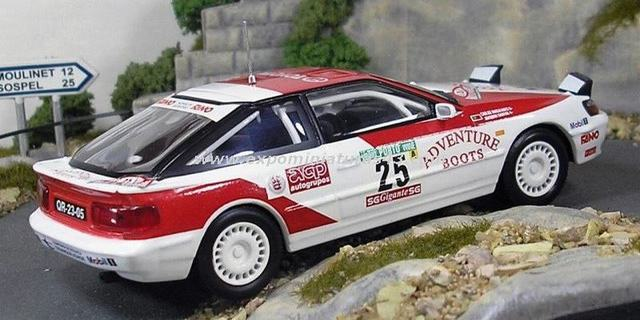 Rally Portugal 1992 Toyota Celica Santos/Magalhaes 1/43
