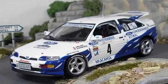 Rally Asturias 1993 Ford Escort RS Cosworth Alonso/Belzunces 1/43