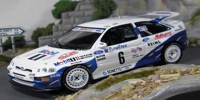 Rally de Monte-Carlo 1993 Ford Escort RS Cosworth Delecour/Grataloup 1/43