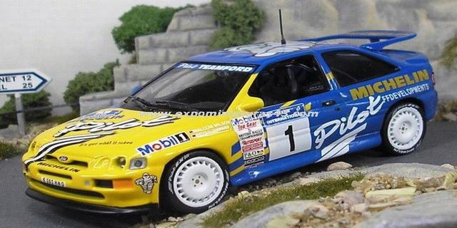 Rally Manx 1994 Ford Escort RS Cosworth Wilson/Thomas 1/43