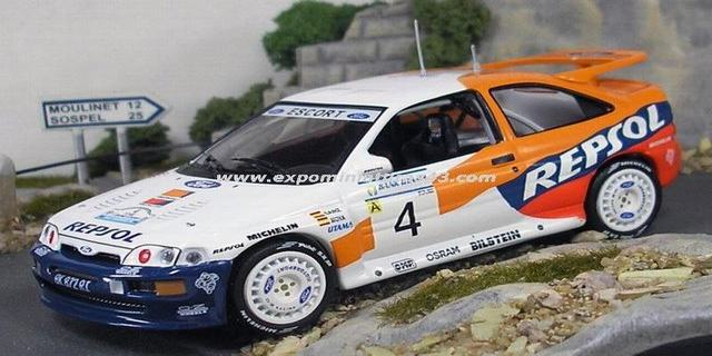 Rally Indonesia 1996 Ford Escort RS Sainz/Moya 1/43