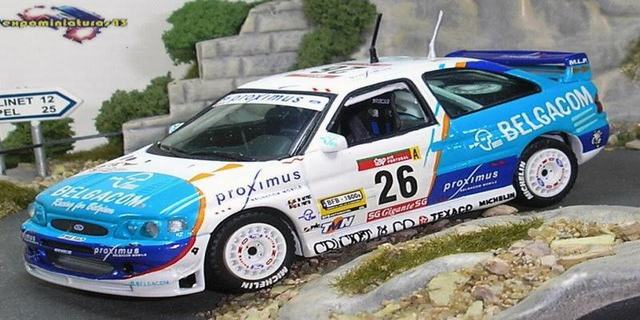 Rally Portugal 1/43 Ford Escort WRC De Mevius/Fortin 1/43