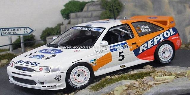 Rally Acropolis 1997 Ford Escort WRC Sainz/Moya 1/43