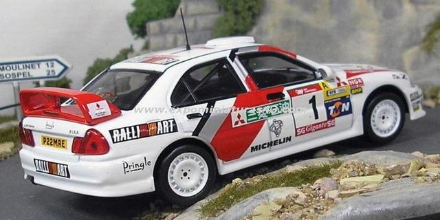 Rally Portugal 1997 Mitsubishi Lancer 4 Makinen/Harjanne 1/43