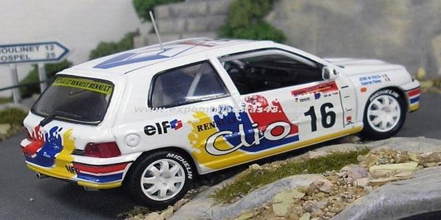 Rally Argentina 1997 Renault Clio Williams Raies/Volta 1/43