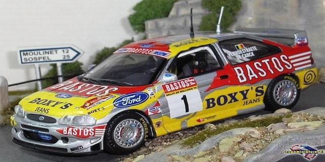 Rally Wallonie 1998 Ford Escort WRC Verhoestraete/De Canck 1/43