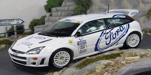 Rally Ford Focus WRC Test Car 1998 1/43