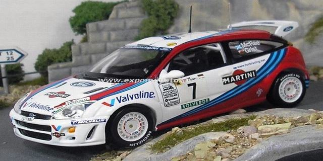 Rally Portugal 1999 Ford Focus McRae/Grist 1/43