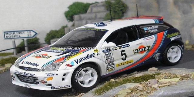 Rally Catalunya 2000 Ford Focus WRC McRae/Grist 1/43