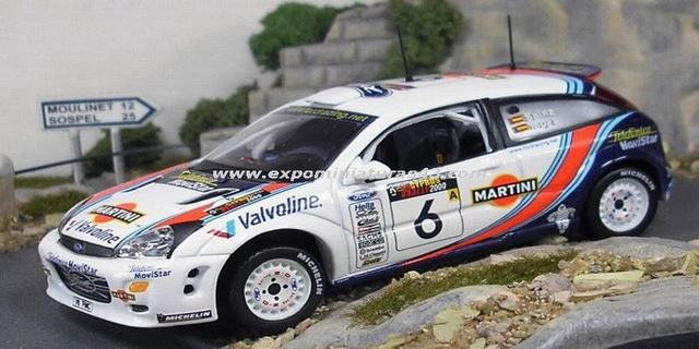 Rally Chipre 2000 Ford Focus WRC Sainz/Moya 1/43
