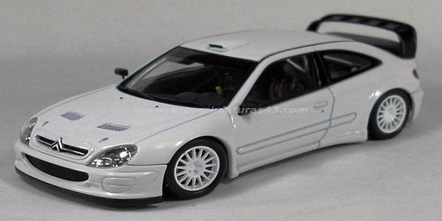 Rally 2002 Citroen Xsara WRC Plain Body 1/43