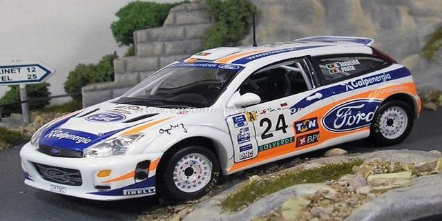 Rally Portugal 2001 Ford Focus WRC Madeira/Prata 1/43