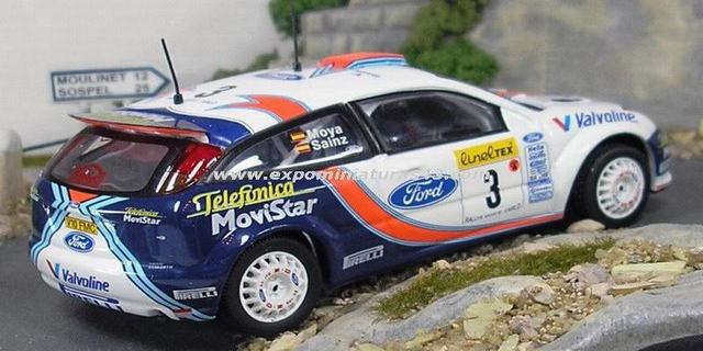 Rally de Monte-Carlo 2001 Ford Focus WRC Sainz/Moya 1/43