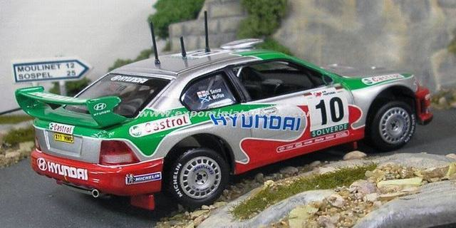 Rally Portugal 2001 Hyundai Accent WRC McRae/Senior 1/43
