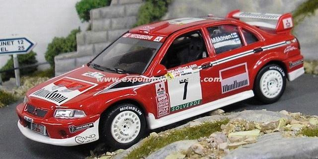 Mitsubishi Evo 6 Rally. Rally Portugal 2001 Mitsubishi