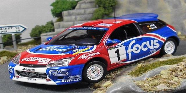 Rally Cangas de Narcea 2002 Ford Focus WRC Jaio/Cruz 1/43
