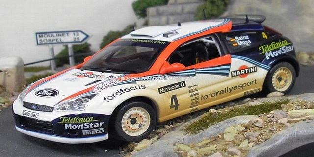 Rally RAC 2002 Ford Focus WRC Sainz/Moya 1/43