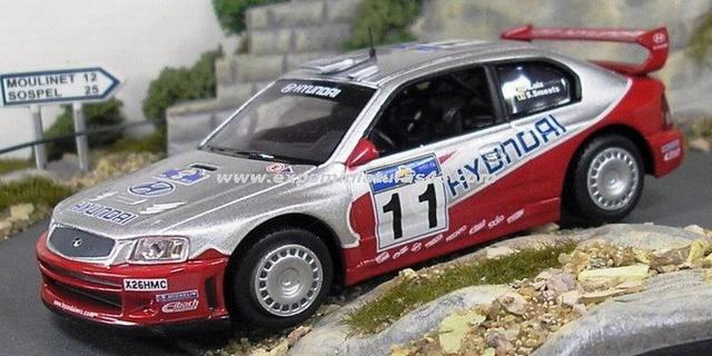 Acropolis Rally of Greece 2003 Hyundai Accent WRC Loix/Smeets 1/43