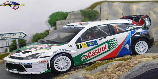 Rally de Catalunya 2004 Ford Focus WRC Martin/Park 1/43