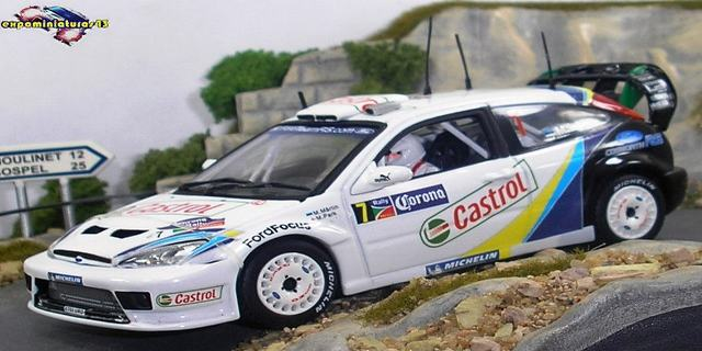 Rally de Mexico 2004 Ford Focus WRC Martin/Park 1/43