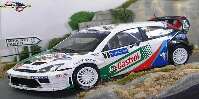 Rally Tour de Corse 2004 Ford Focus WRC Martin/Park 1/43
