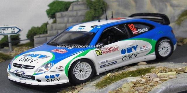 Rally de Monte-Carlo 2005 Citroen Xsara WRC Stohl/Minor 1/43