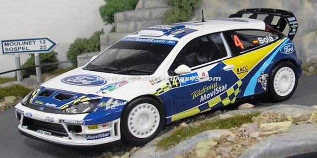 Rally Mexico 2005 Ford Focus WRC Sola/Amigo 1/43