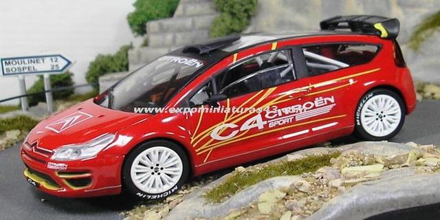 Rally 2006 Citroen C4 Concept Car 1/43