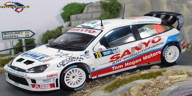 Rally Alemania 2006 Ford Focus WRC MacHale/Nagle 1/43