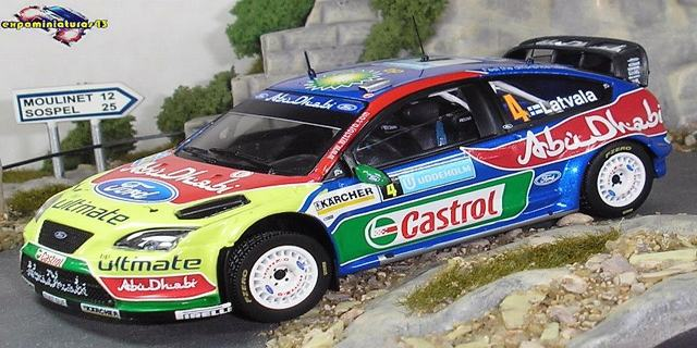 Rally Suecia 2008 Ford Focus WRC Latvala/Anttila 1/43