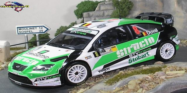 Rally Alemania 2008 Ford Focus WRC Duval/Chevaillier 1/43